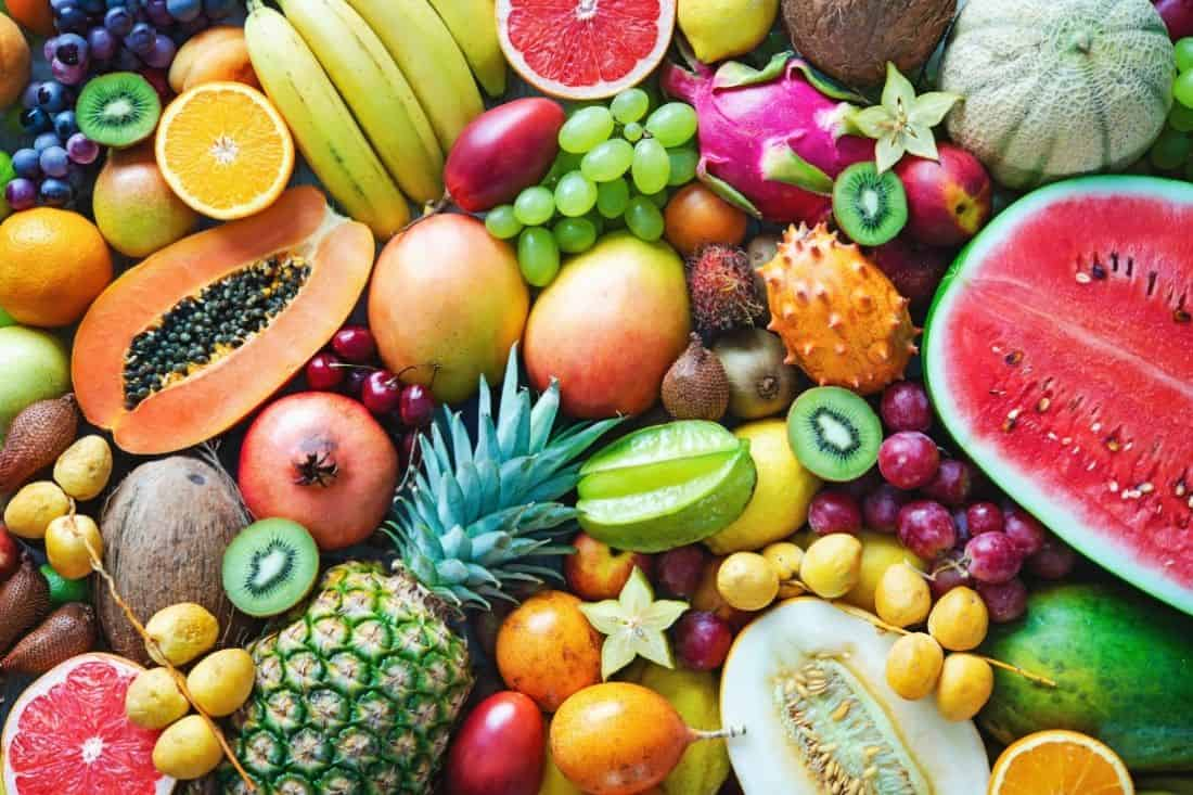 general knowledge questions on fruit and vegetables